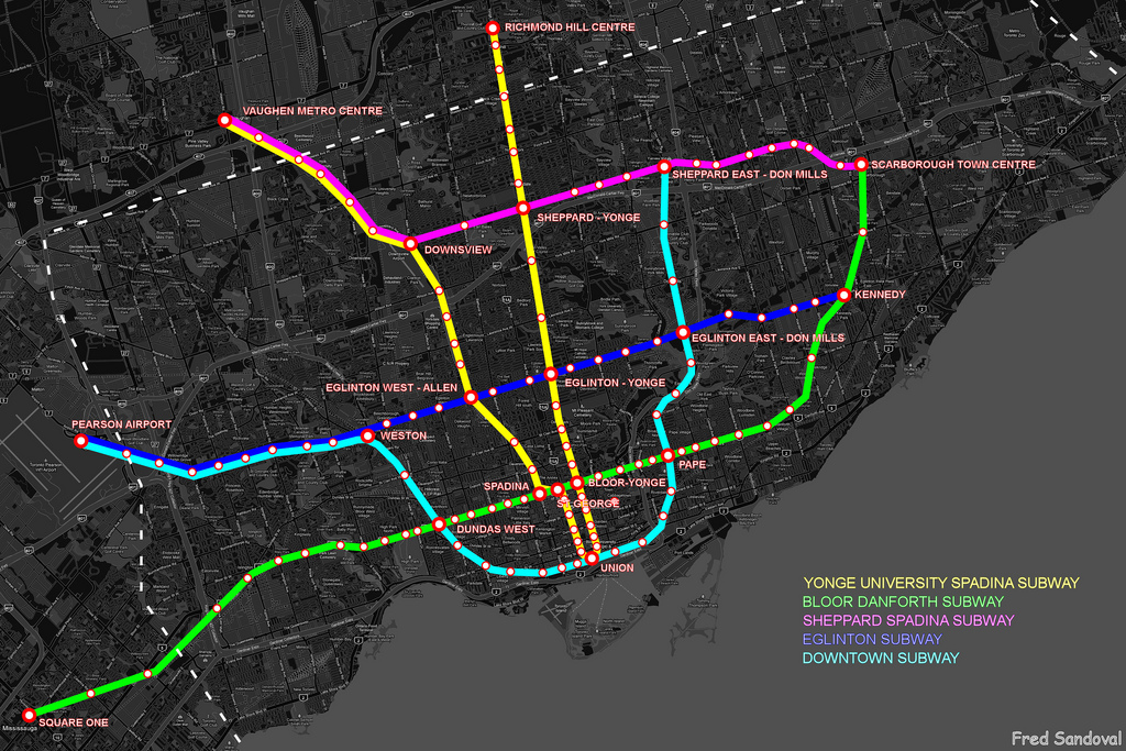 Ttc Subway Map 2025.Ttc Scarborough Subway Extension Formerly Lrt Replacement City