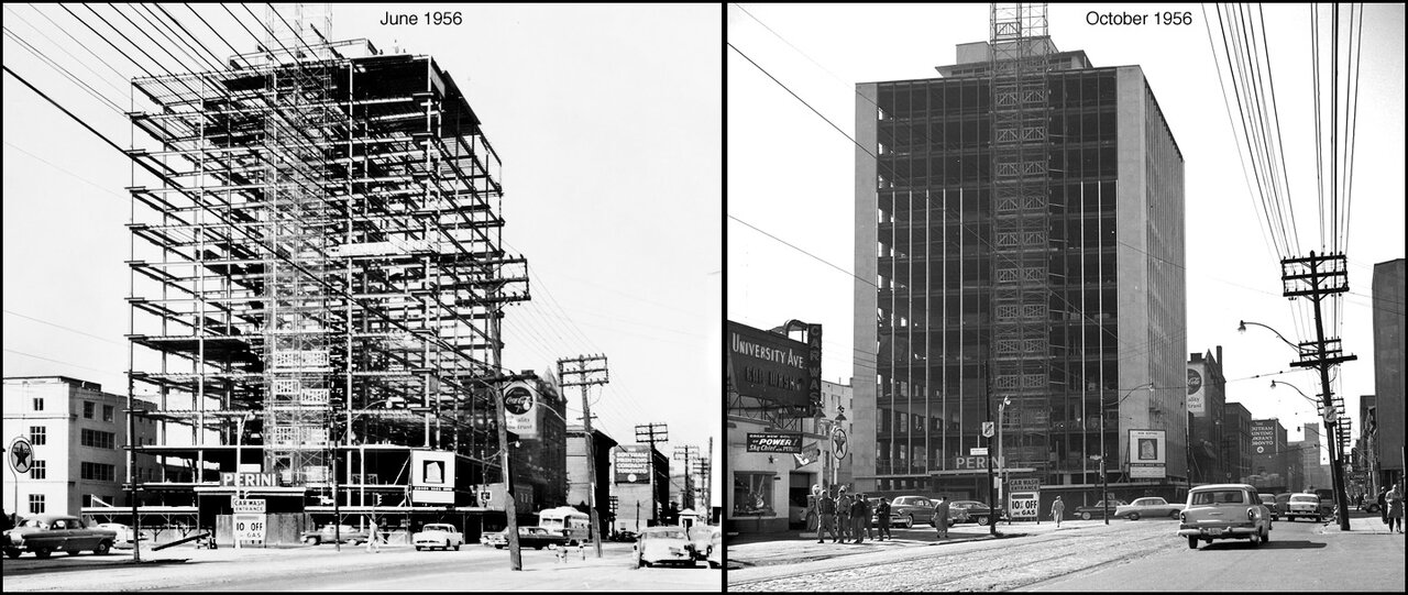 Adelaide St. W. looking west across University Ave. (Mayzel building)   TPL.jpg