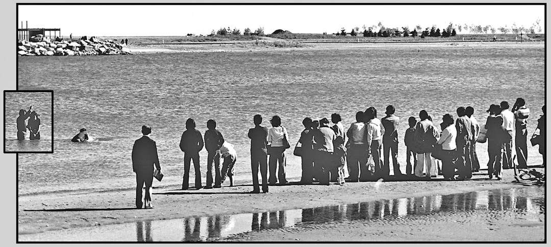 baptism at Cherry Beach -c.2008 ©George Dunbar.jpg