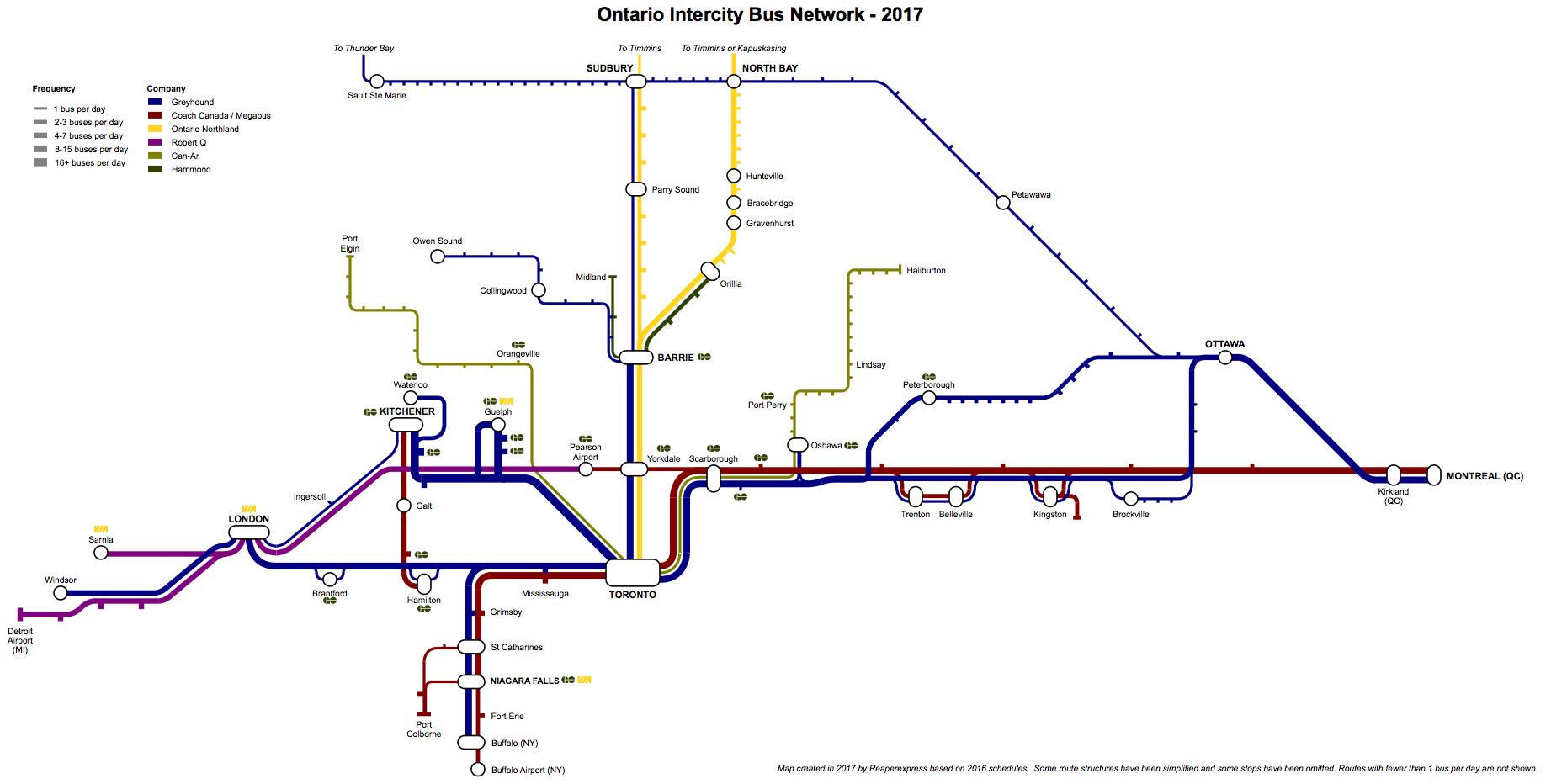 Intercity Bus Services   Page 7   UrbanToronto