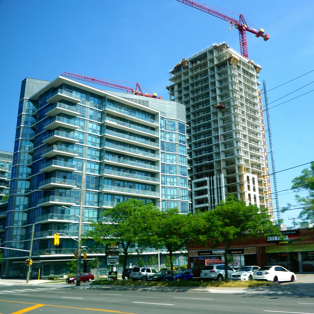 Richmond Architects: IQ Condos Phase 1 & Park Towers Phase 2