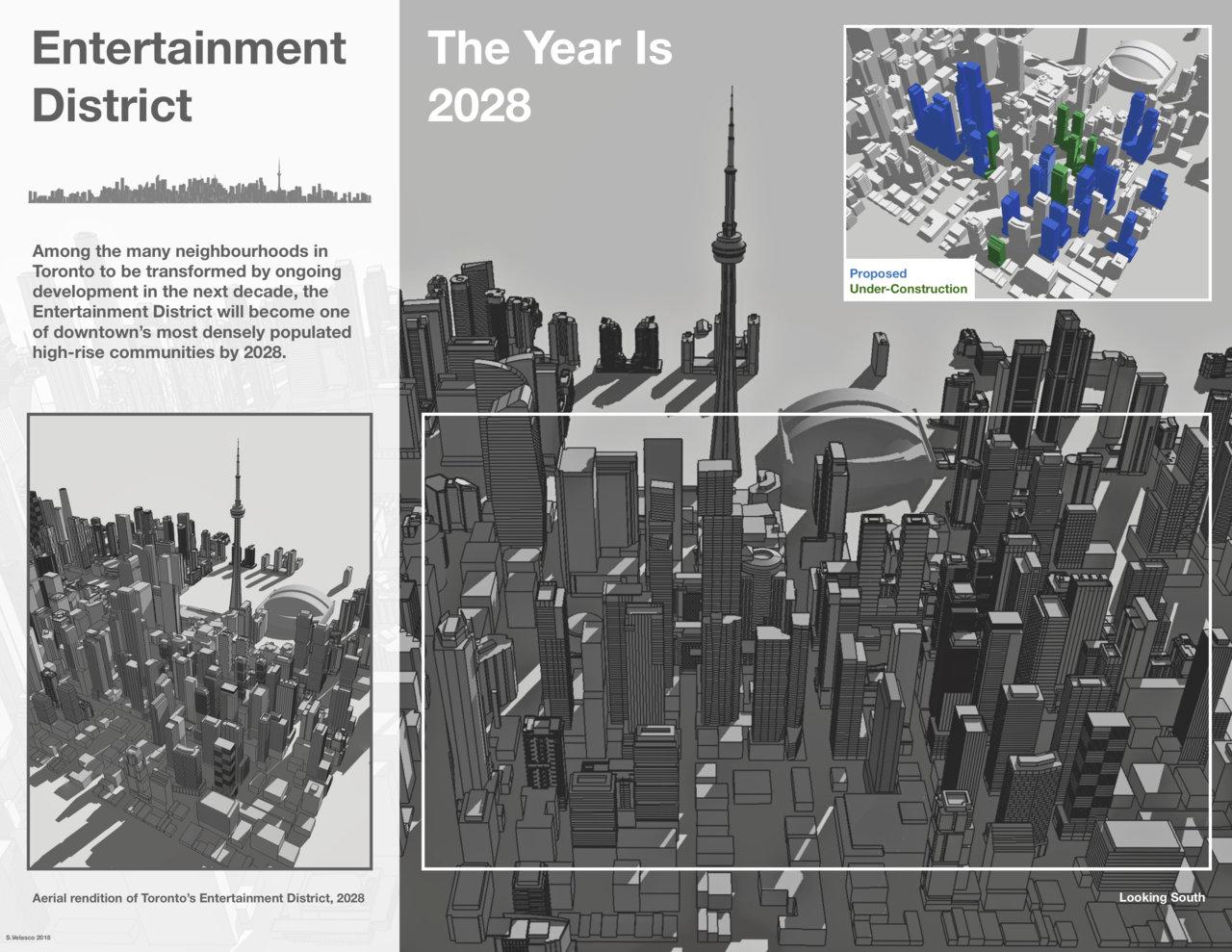 Entertainment District Graphic.