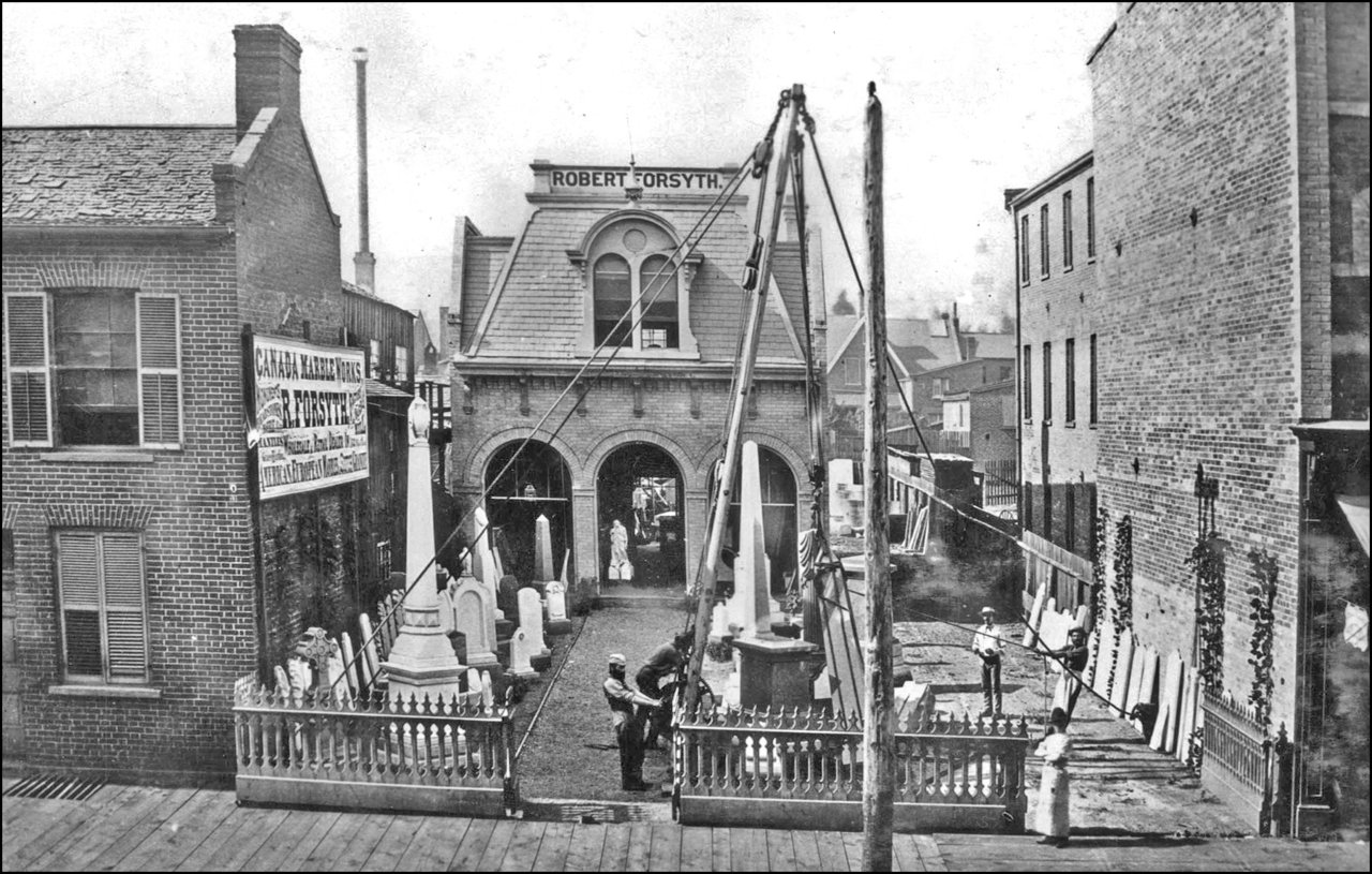 Forsyth, Robert, Canada Marble Works, 80 King St. W., north side, between Bay & York Sts. 1872...jpg
