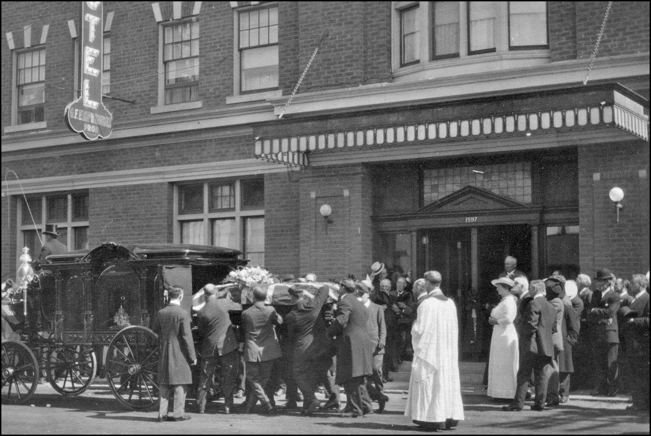 George Empringham funeral 1915 TPL.jpg