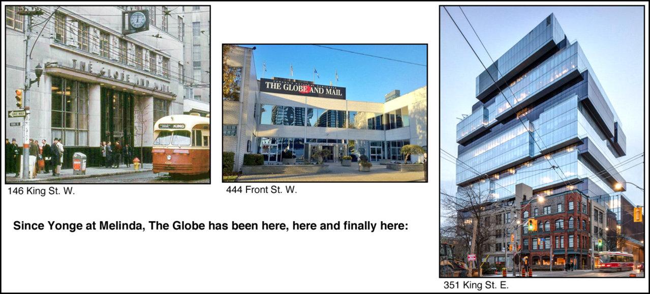 Globe locations.