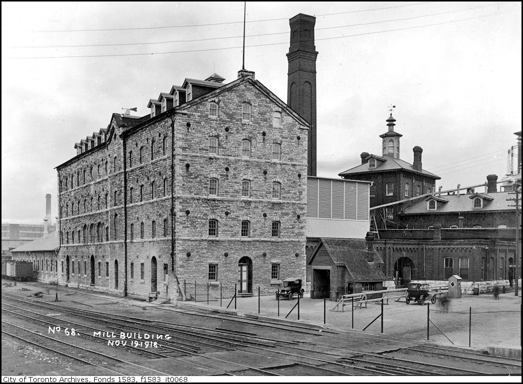 Gooderham and Worts distillery main building, containing mill, Mashing and Fermenting departme...jpg