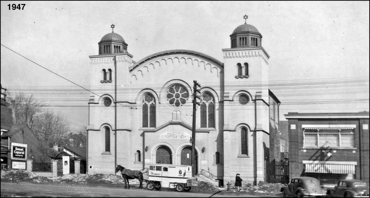 Hebrew Men of England Synagogue - Spadina.