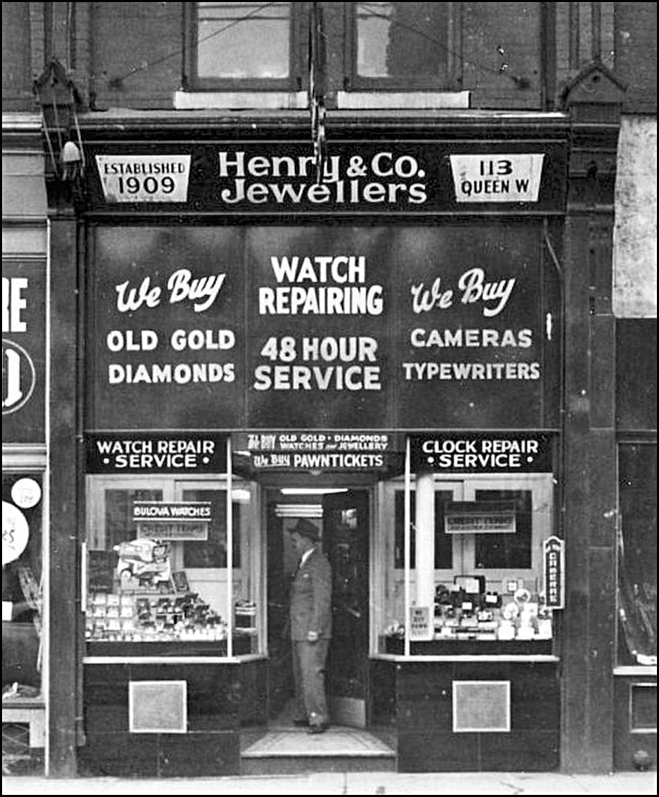 Henry & Co. 113 Queen St. W. c1945.jpg
