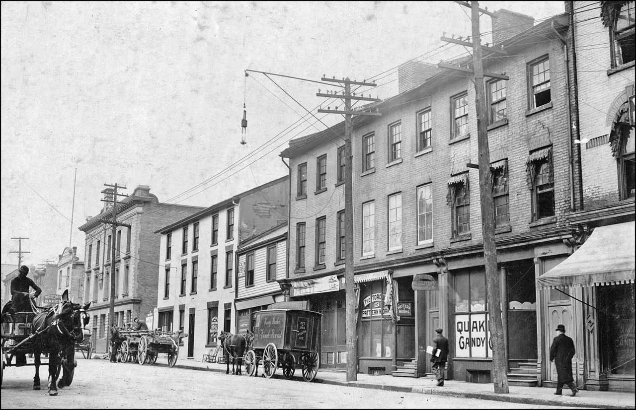 Jarvis St., east side, looking north, between Adelaide & Richmond Sts. E. 1910   TPL.jpg