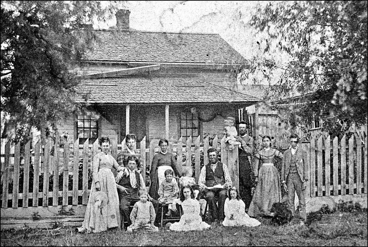 Joseph Crossan house, Finch Ave. W., north west corner Jane St.? 1878  TPL.jpg