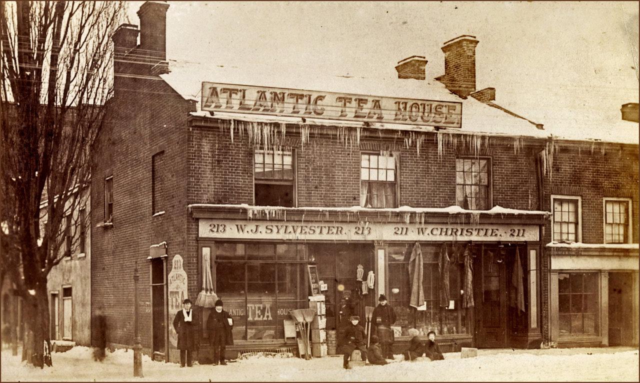 King St. E., E. of Jarvis St., south west corner Frederick St. 1885  TPL.jpg