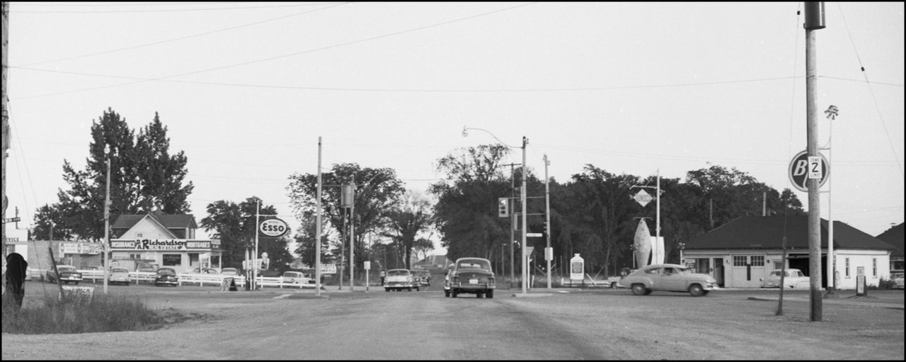 Looking S. on Victoria Park Ave. across Sheppard Avenue East   1958   TPL.jpg
