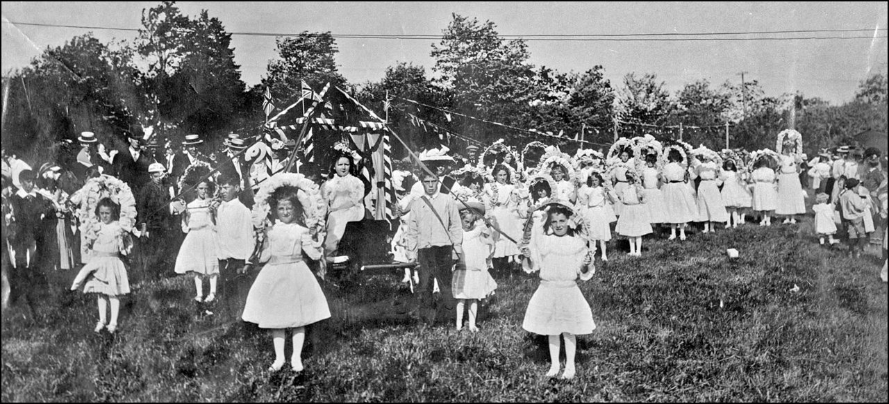 May-Day, 1907. Celebrations on property of Mrs. White, bounded by St. Clair Ave. W., Vaughan R...jpg