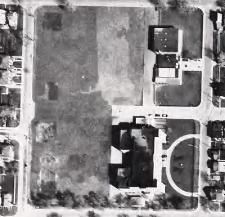 missing section of Floyd Ave in 1960.jpg