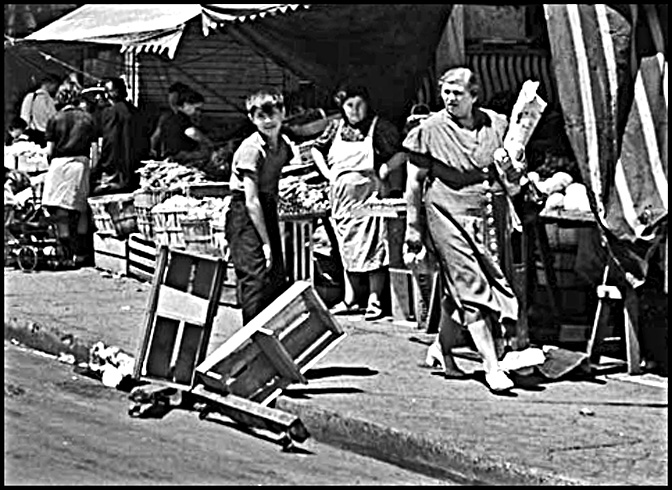 orange-crate scooters, c.1940 photo by Ronny Jacques  LAC.jpg