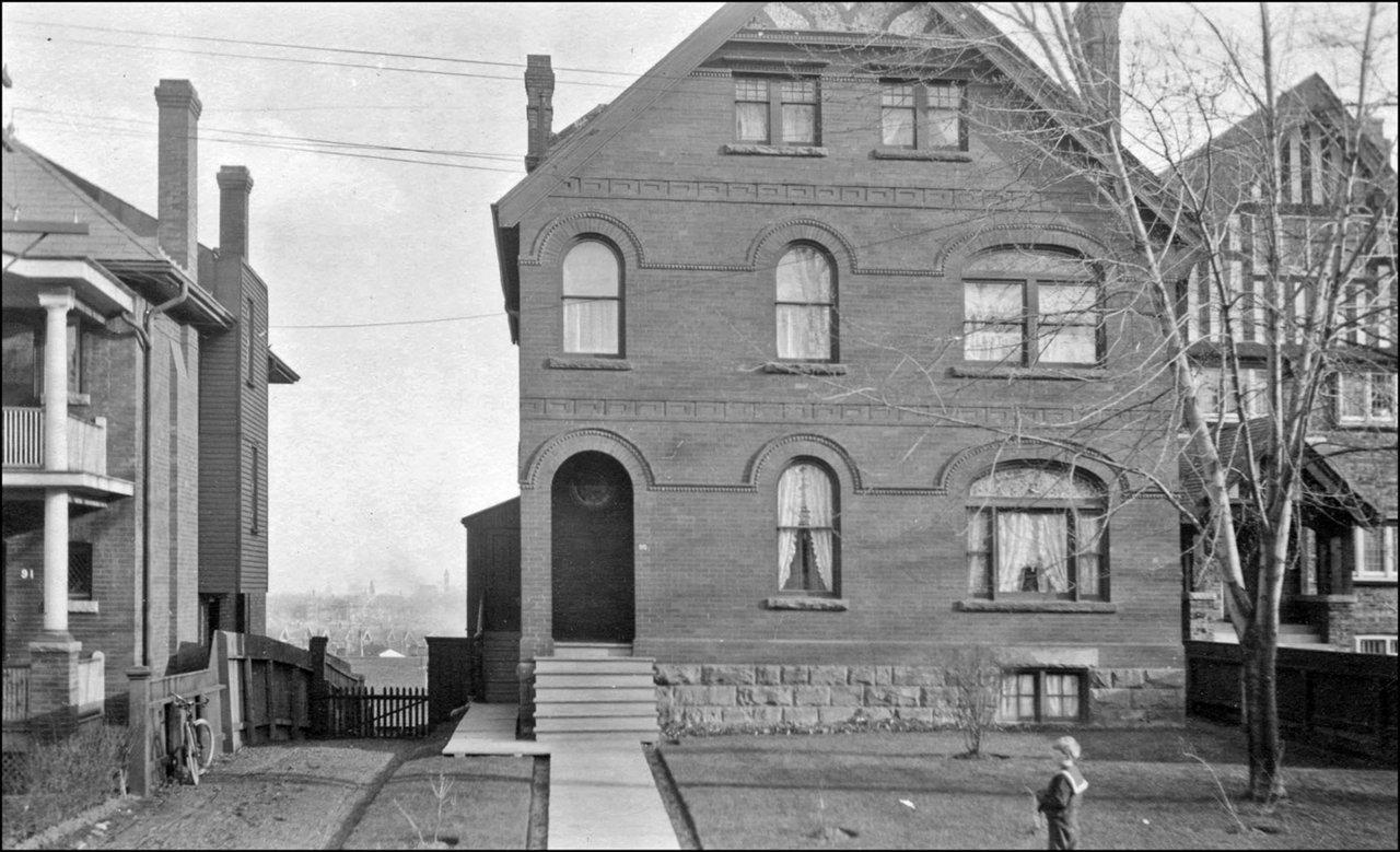Sidney W. Band house, 95 Woodlawn Ave. W., 1910  TPL.jpg
