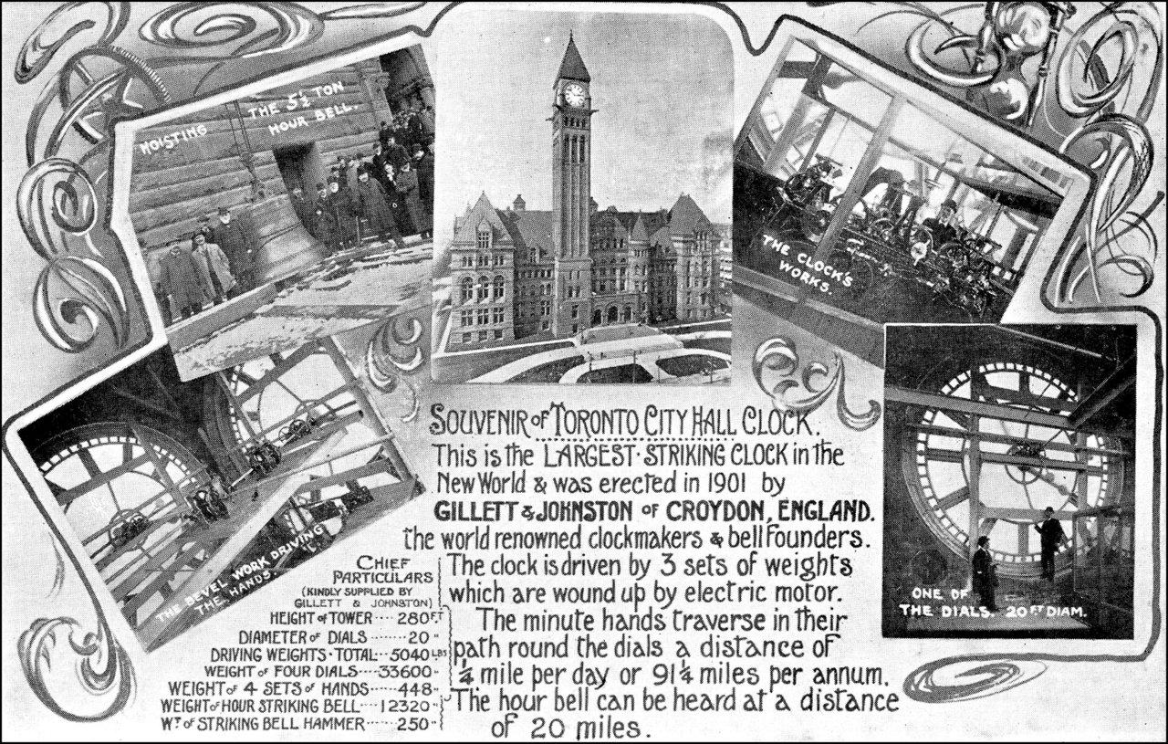 Souvenir of Toronto City Hall Clock, 1899  TPL.jpg