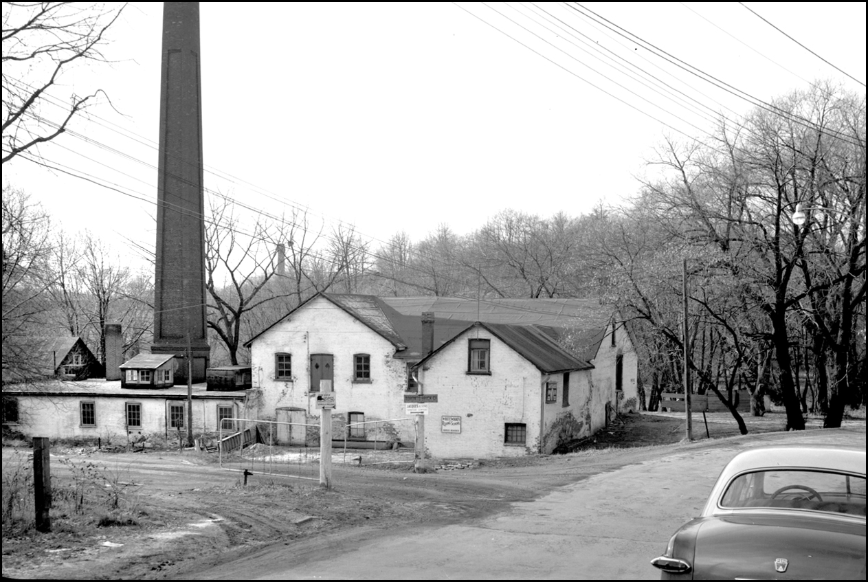 Taylor Brothers, paper mill, Don R., east side, south of Pottery Rd. 1954  TPL.jpg
