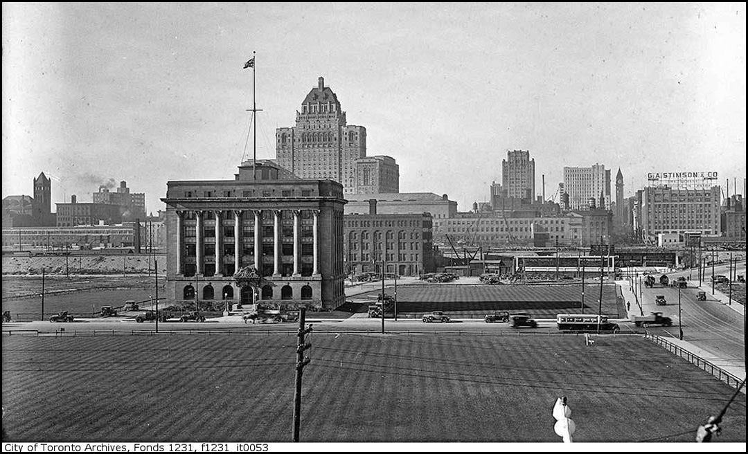Toronto skyline 1929.