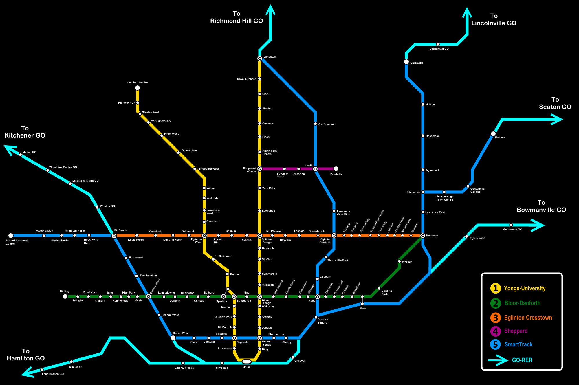 Transit Fantasy Maps Page 276 Urbantoronto