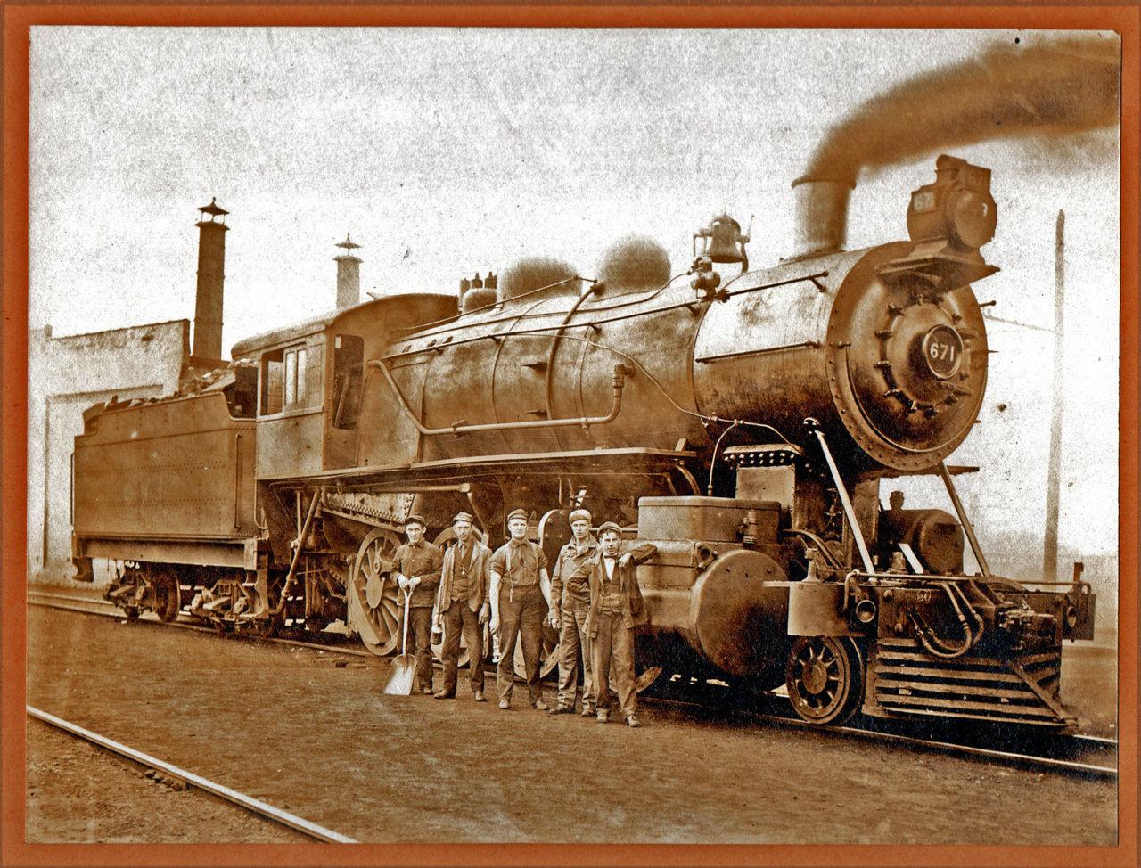 Train engine-Great Grampa Corby, engineer-x.jpg