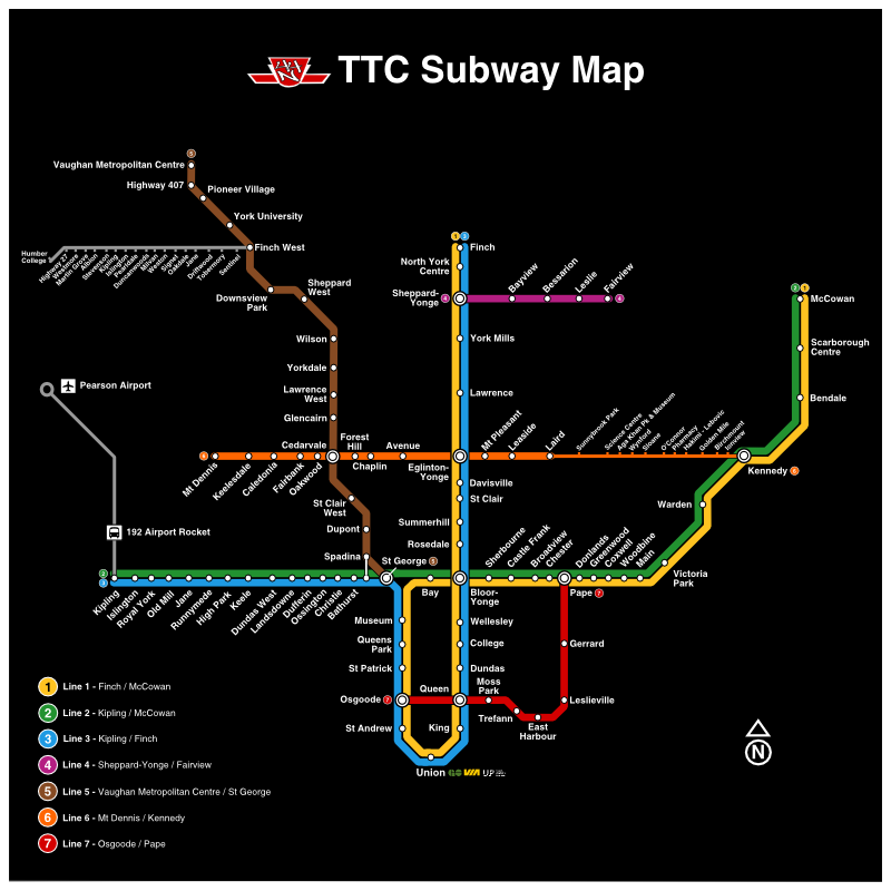 Ttc Subway Map Green Line.Transit Fantasy Maps Page 294 Urbantoronto