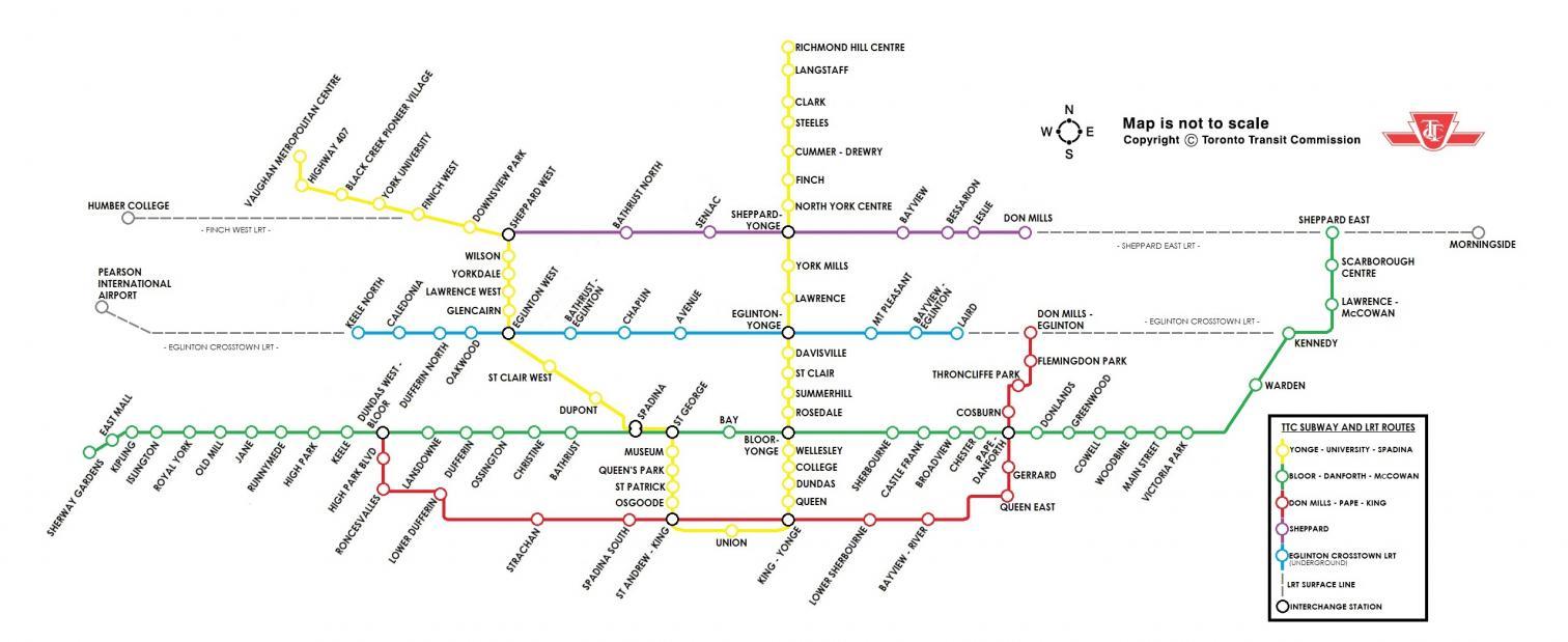 Fantasy Toronto Subway Map.Transit Fantasy Maps Page 152 Urbantoronto