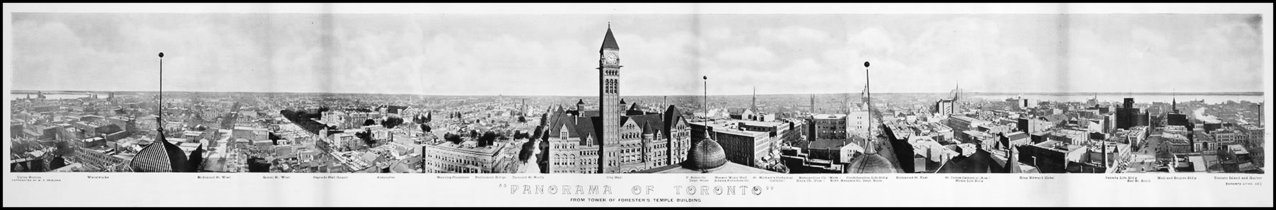 View from the tower of the Temple Building   1903  TPL.