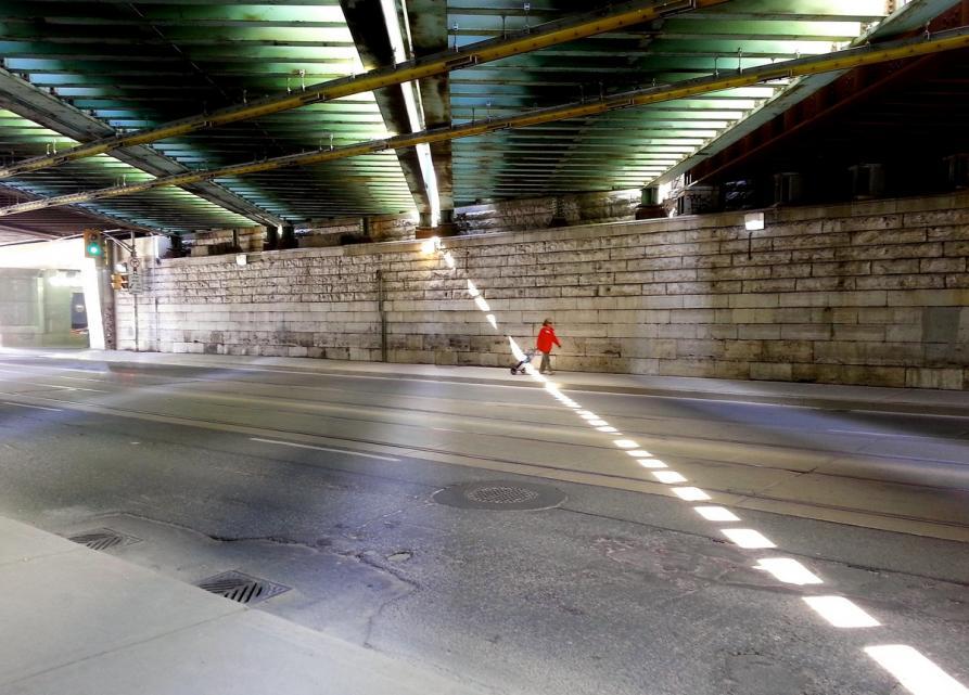 Woman in red railway overpass re.jpg