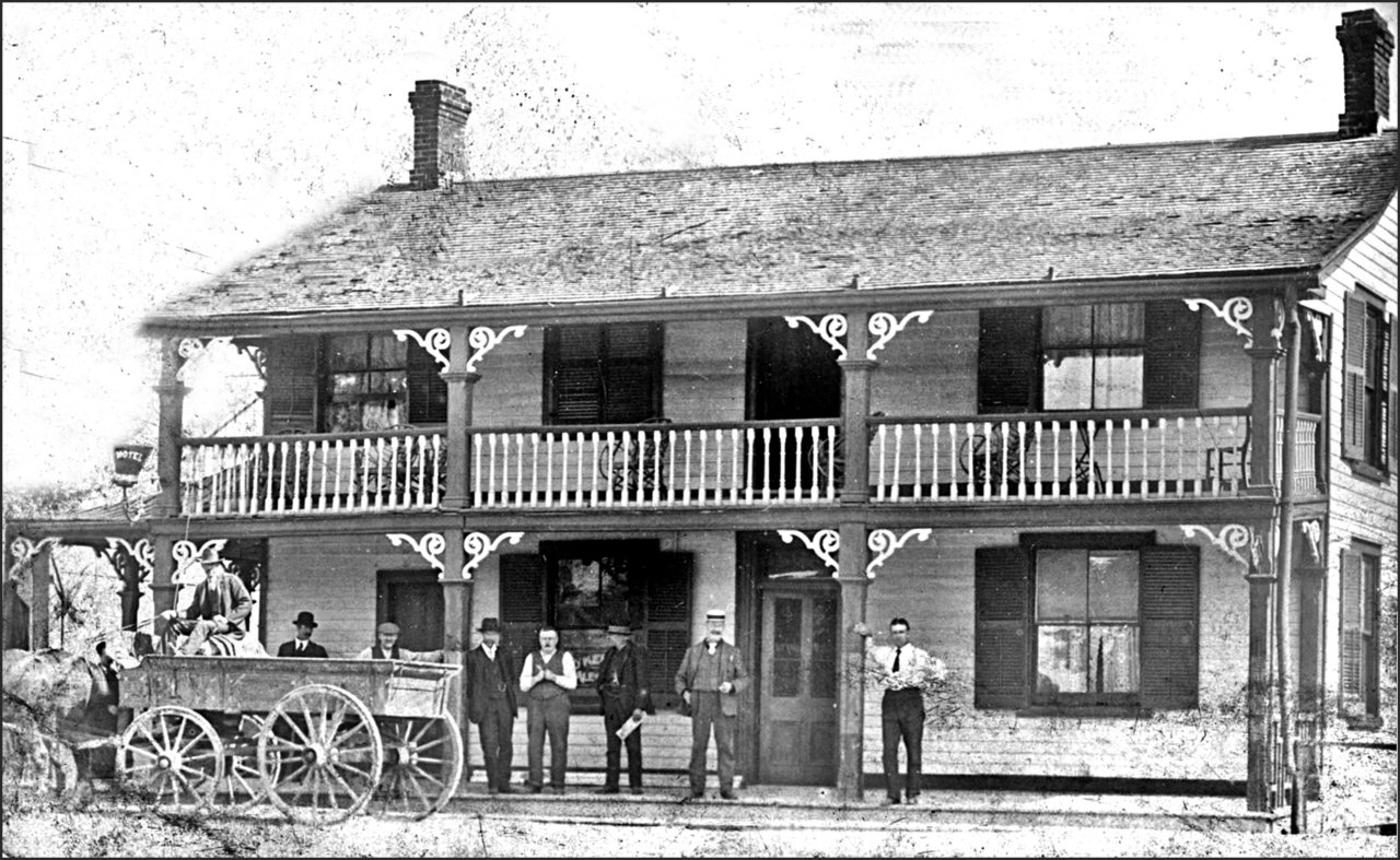 Woodruff House, Kingston Rd., s. side, e. of Woodbine Ave. 1900  TPL.jpg