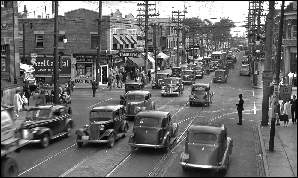 Yonge at St. Clair c.1940-45 LAC.jpg
