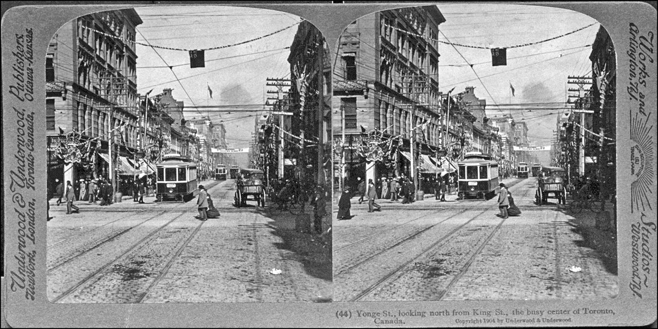 Yonge looking N. from King c.1904 Thomas Fisher Rare Book Library, U.ofT.jpg