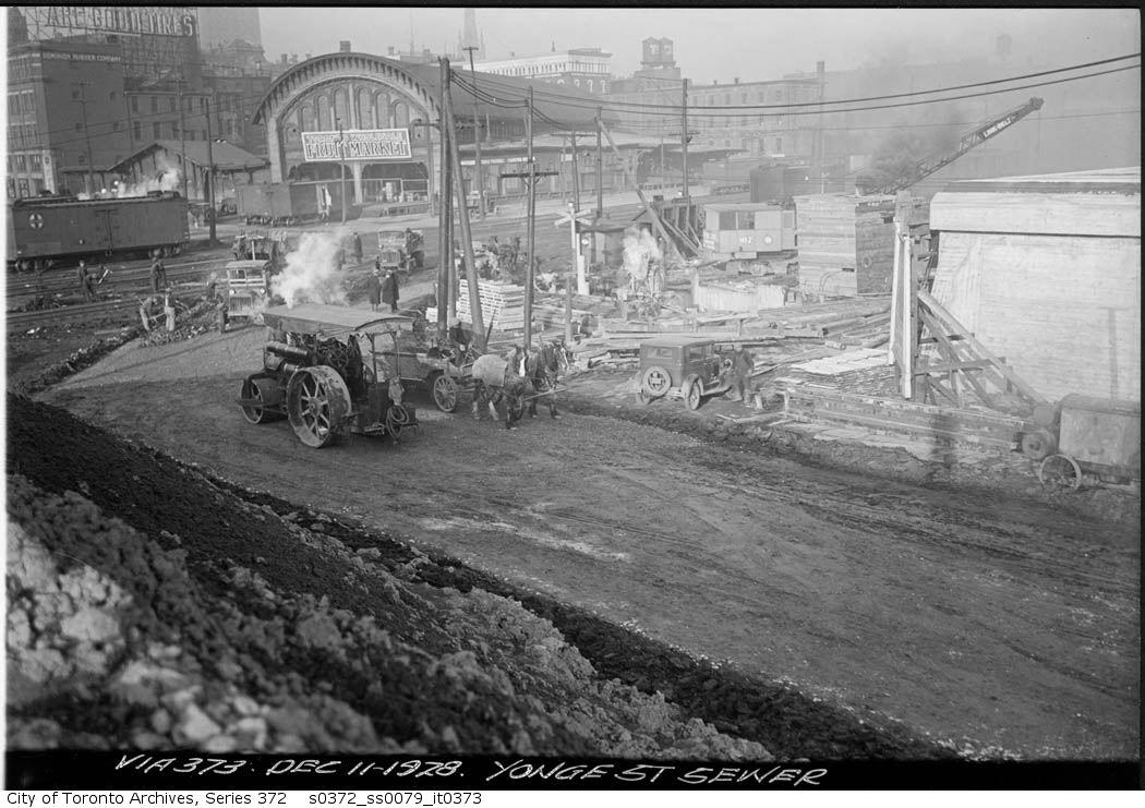 yonge-sewer 1928.