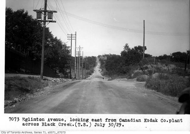 Weston Road and Eglinton