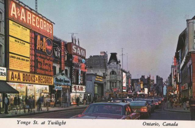 A Bopping Yonge and Gould In The Early 1980's.