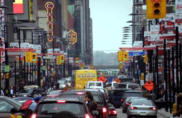 Another Busy Day on Yonge Street