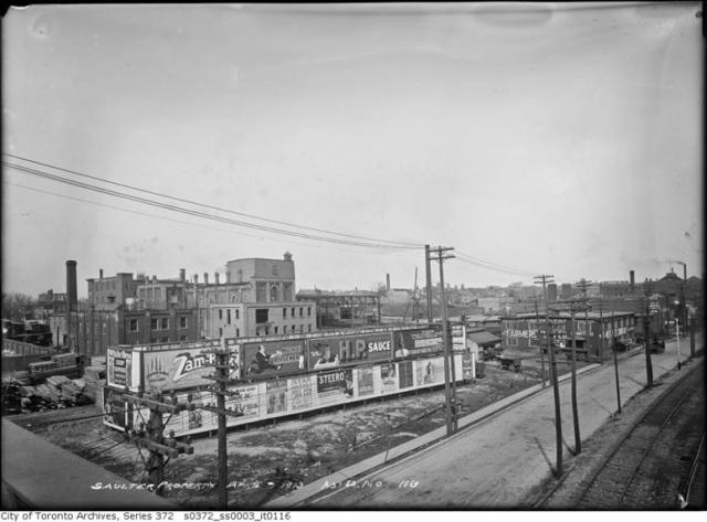 Queen Street And The Don River Bridge