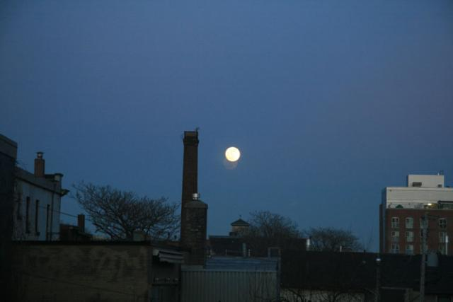 The Moon Over the East End