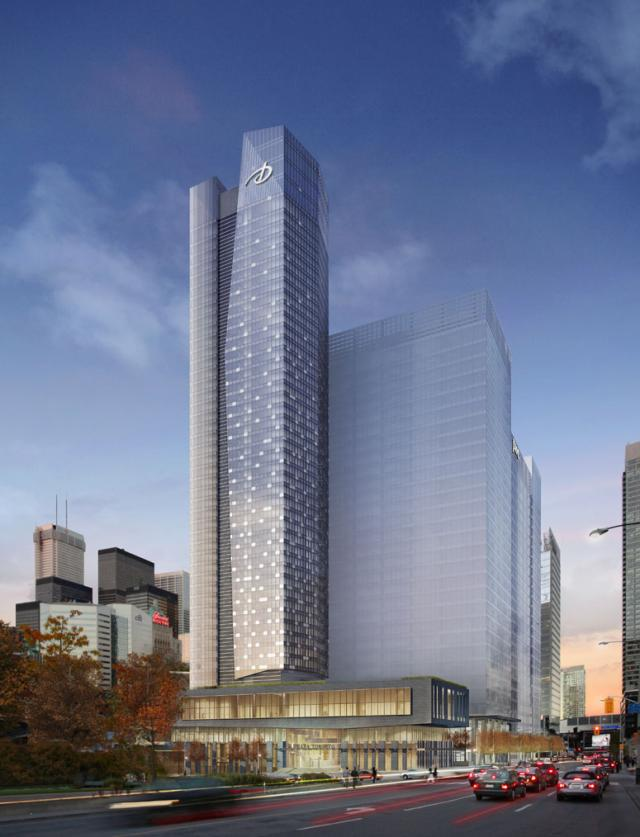 Southcore Financial Centre by bcIMC and KPMB Architects with Steele + Page/IBI