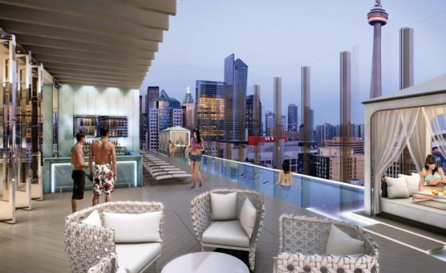 Bisha Hotel and Condo in Toronto by Lifetime Developments and Ink Entertainment