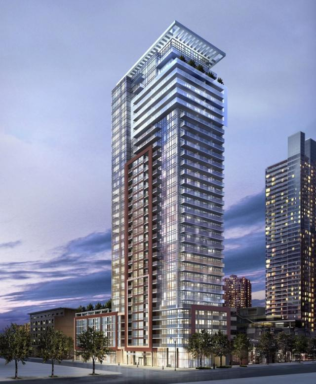 The Mercer in Toronto by Graywood Development and Beaverhall Homes