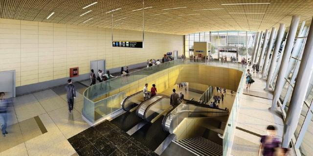 Downsview Park Station Interiors (Courtesy of TTC / Aedas)
