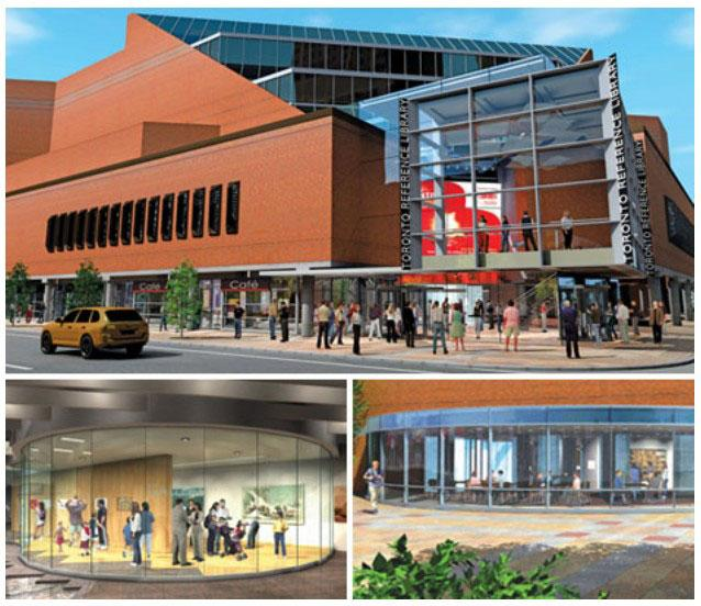Toronto Reference Library Rendering