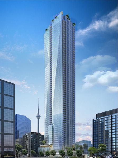 Shangri-La Toronto In Day Rendering