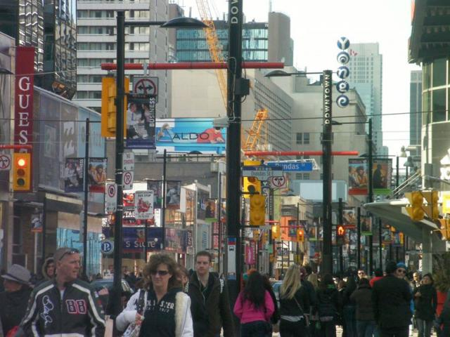 Dundas Square (Photo by caltrane74)