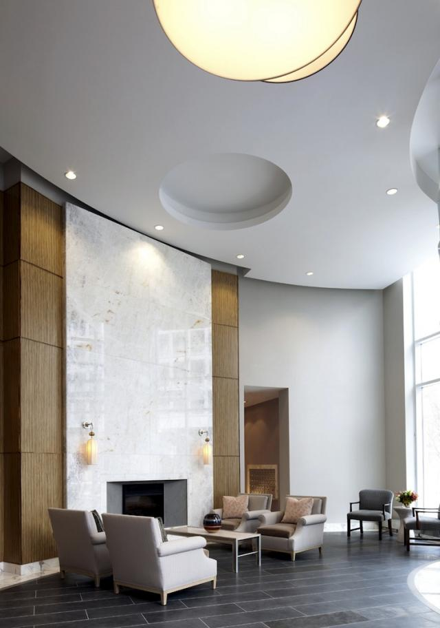 Churchill Park Condos Lobby, image courtesy of Tower Hill Dev Corp