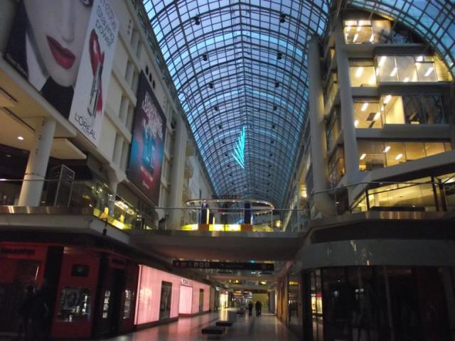 20 million renovation of Toronto's Eaton Centre by Cadillac Fairview