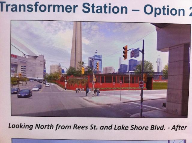 A Rendering of option two of the final look of the Bremner Station