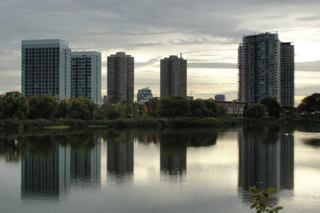 A Skyline Develops In Toronto's Humber Bay