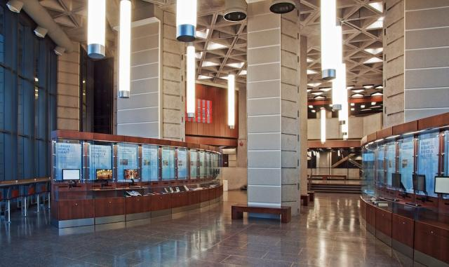 Robarts Library at U of T after renovations, image courtesy of Diamond +Schmitt